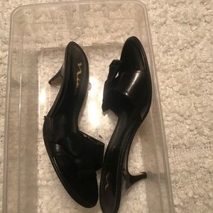 New Nina Kitten Heel Slide Size 7.5